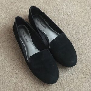 Kelly & Kate black loafers